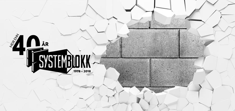 Systemblokk-betongvegg